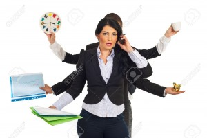Busy-businesswoman