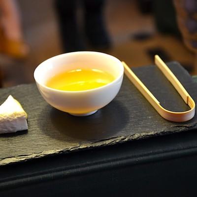fromage et thé vert