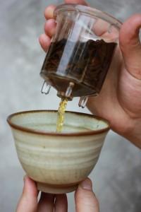 thé oollong infusé